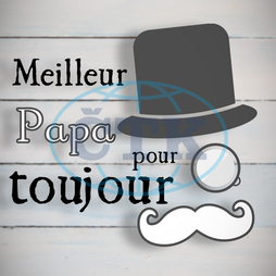 Wood,  Wooden,  Planks,  Floor,  Floorboard,  Parquet,  Flooring,  Paint,  White,  Blue,  Meilleur Papa Pour Toujours,  Message,  Style,  Writing,  Black Letters,  French,  Celebration,  Father,  Dad,  Best Dad Ever,  Ad