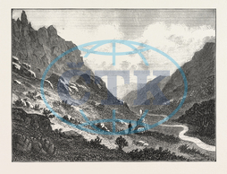 LOST, TOURIST, CUMBERLAND, MOUNTAINS, WEST, END, BODY, LATE, MR., BARNARD, FOUND, ENGRAVING, 1876, UK, britain, british, europe, united kingdom, great britain, european, engraved image, history, historic art, illustrative t