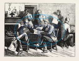 PRESIDENTIAL, ELECTION, STATE, CANVASSERS, JAIL, COLUMBIA, ENGRAVING, 1876, USA, America, United States, engraved image, history, historic art, illustrative technique, engravement, Arts, Culture, 19th Century Style, Ret