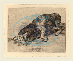 Francisco de Goya, Fiero monstruo!, Fierce Monster!, Spanish, 1746, 1828, 1810, 1820, etching, drypoint, burin, trial, proof, printed, posthumously, Calcografia, 1870, Francisco, de, Goya