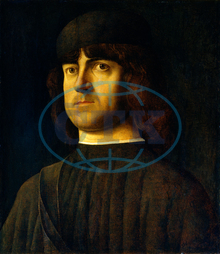 Alvise Vivarini, Portrait of a Man, Italian, 1442, 1453, 1503, 1505, 1495, oil, panel, Alvise, Vivarini