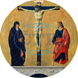 Francesco del Cossa, The Crucifixion, Italian, 1436, 1477, 1478, 1473, 1474, tempera, panel, Francesco, del, Cossa