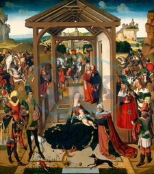 North Netherlandish 15th Century, The Adoration of the Magi, fourth quarter 15th century, oil on canvas, North, Netherlandish, 15th, Century