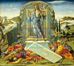 Benvenuto di Giovanni, The Resurrection, Italian, 1436, before, 1517, 1491, tempera, panel, Benvenuto, di, Giovanni