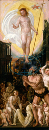 Workshop of Hans Mielich, Christ in Limbo, 1550-1575, oil on panel, Workshop, of, Hans, Mielich