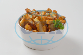 fried chipped potatoes