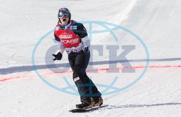 Eva Samková,  snowboardistka,  sportovkyně,  Snow boarding Cross World Cup in Feldberg