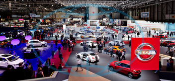Palexpo, exhibition, hall, international motor show