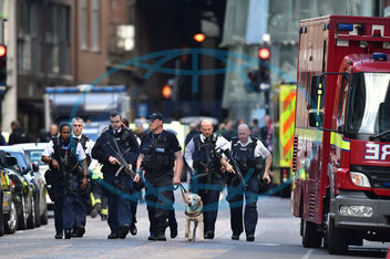 Incident at London Bridge
