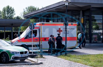 Several injured after shooting in Munich, Mnichov,  střelba