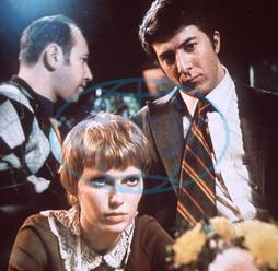Mia Farrow,  Dustin Hoffman,  herec,  role