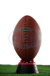 Playing Field, Sports Field, Field, Grass, Green, Brown, Leather, Textured, Pattern, American Football, Ball, Sport, Competitive Sport, Team Sport, Competition, Shape, Oval Shape, Geometric Shape, Sports Equipment, Equi