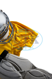 Protection, Safety, Security, Grill, Headgear, Sports Gear, Sports Helmet, Helmet, American Football, Sport, Competitive Sport, Team Sport, Competition, Still Life, Sports Equipment, Red, Yellow, Sports Uniform, Unifor