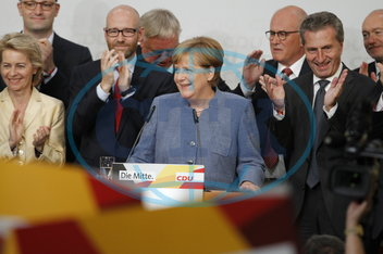 Election evening of the CDU in Berlin