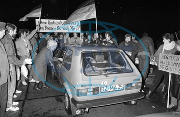 Turning point in Germany in 1989