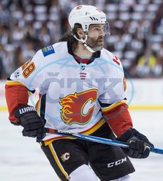 Jaromír Jágr,  hokejista,  sportovec,  Clagary Flames,  THE CANADIAN PRESS 2017-10-14