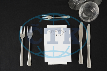 Table, Setting, Place, Dinning, Dinner, Meal, Food, Arrangement, Tableware, Dinnerware, Theme, Celebration, Decor, Decoration, Festivity, Occasion, Gathering, Reserved, Service, Black, Cutlery, Knife, Fork, Menu, Menu Card, G
