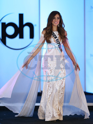 Michaela Habánová,  66th Miss Universe Pageant Preliminary Competition