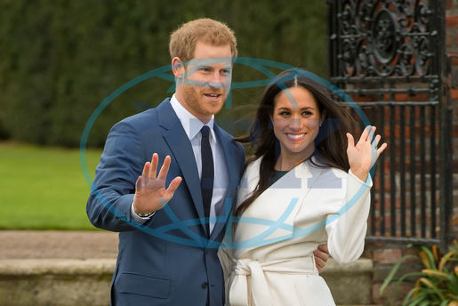Prince Harry and Meghan Markle,  zasnoubení,  Engagement Announcement