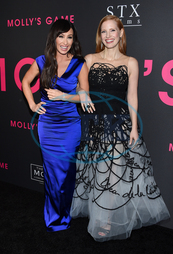 Molly Bloom,  Jessica Chastain,  smích