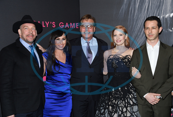 Bill Camp,  Molly Bloom,  Aaron Sorkin,  Jessica Chastain,  Jeremy Strong