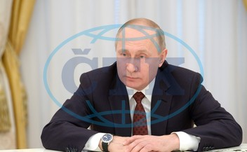 Russian President Putin meets with presidential candidates in Moscow