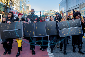 NYC: Unity March for Dr. Martin Luther King Jr.