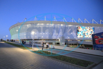 Rostov Arena,  stadion,  Rostov na Donu,  Second test match at Rostov Arena Stadium ahead of 2018 FIFA World Cup