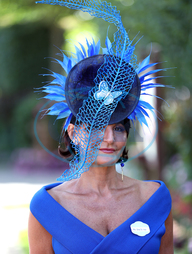 Ilda Di Vico,  klobouk,  Royal Ascot - Day Four - Ascot Racecourse