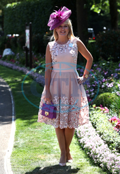 Nicki Chapman,  klobouk,  Royal Ascot - Day Four - Ascot Racecourse