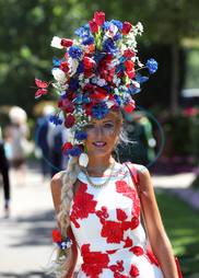 Natalia Beach,  klobouk,  Royal Ascot - Day Four - Ascot Racecourse