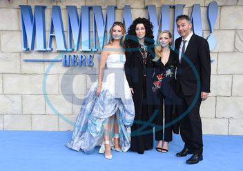 Lily James,  Cher,  Amanda Seyfried,  Ol Parker