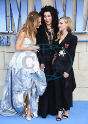 Lily James,  Cher,  Amanda Seyfried