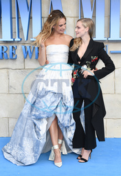 Lily James,  Amanda Seyfried
