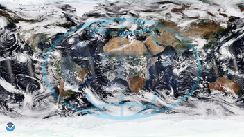 Amazing Satellite Imagery Shows Dramatic October Weather Conditions