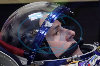 Kosmonaut,  Nick Hague,  astronaut,  NASA,  raketa,  vesmírná loď,  MS-10,  nezdařený start,  ISS Expedition 57/58 prime crew departs for Soyuz MS-10 spacecraft launch