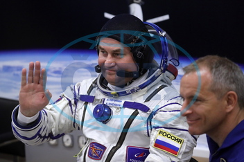 Alexej Nikolajevič Ovčinin,  kosmonaut,  David Saint-Jacques,  raketa,  vesmírná loď,  MS-10,  nezdařený start,  ISS Expedition 57/58 prime crew departs for Soyuz MS-10 spacecraft launch