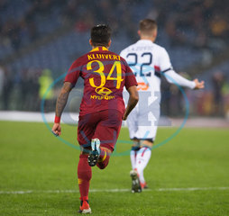 AS Roma Vs Genoa CFC in Roma,  Italy - 16 Dec 2018
