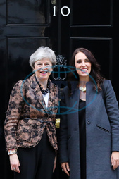 Jacinda Ardern's visit to the UK