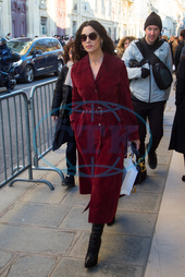 PFW - Arrivals at Dior show Haute Couture Spring/Summer 2019-2020