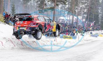 RALLY SWEDEN 2019 Classic winter fixture that spans two countries as it ventures deep into the fro