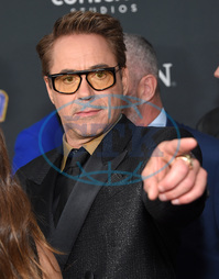 Robert Downey Jr.,  herec,  gesto