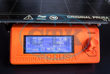 3D tiskárna,  MK3s,  i3, Prusa Research,  FDM,  ,  PLA,  ABS,  PET,  LCD display,