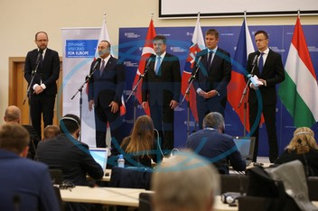 4th Visegrad Group (V4)+Turkey Foreign Ministers Meeting in Slovakia