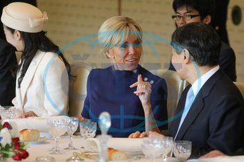 Lunch with Japan Emperor Naruhito at the imperial palace - Tokyo