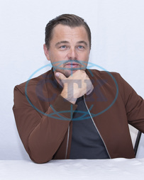 Leonardo DiCaprio promotes the film Once Upon A Time in Hollywood,  at the Four Season,  Beverly Hills.,  herec