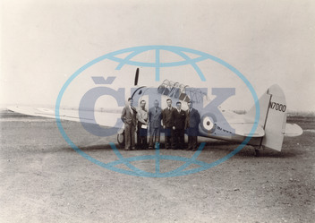 The first North American Harvard I,  N7000
