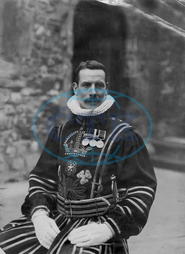 Yeoman Warder Percy Philip,  Tower of London