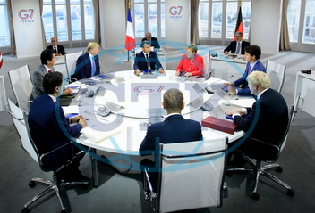 G7 leaders working session - Biarritz