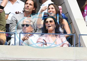 Tennis US Open 2019 Michael Douglas et Catherine Zeta Jones Usa TENNIS US Open 2019 USA